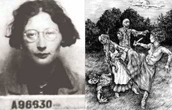 Simone Weil; Frolicking zombies from Quirk Book's 'Pride and Prejudice and Zombies'